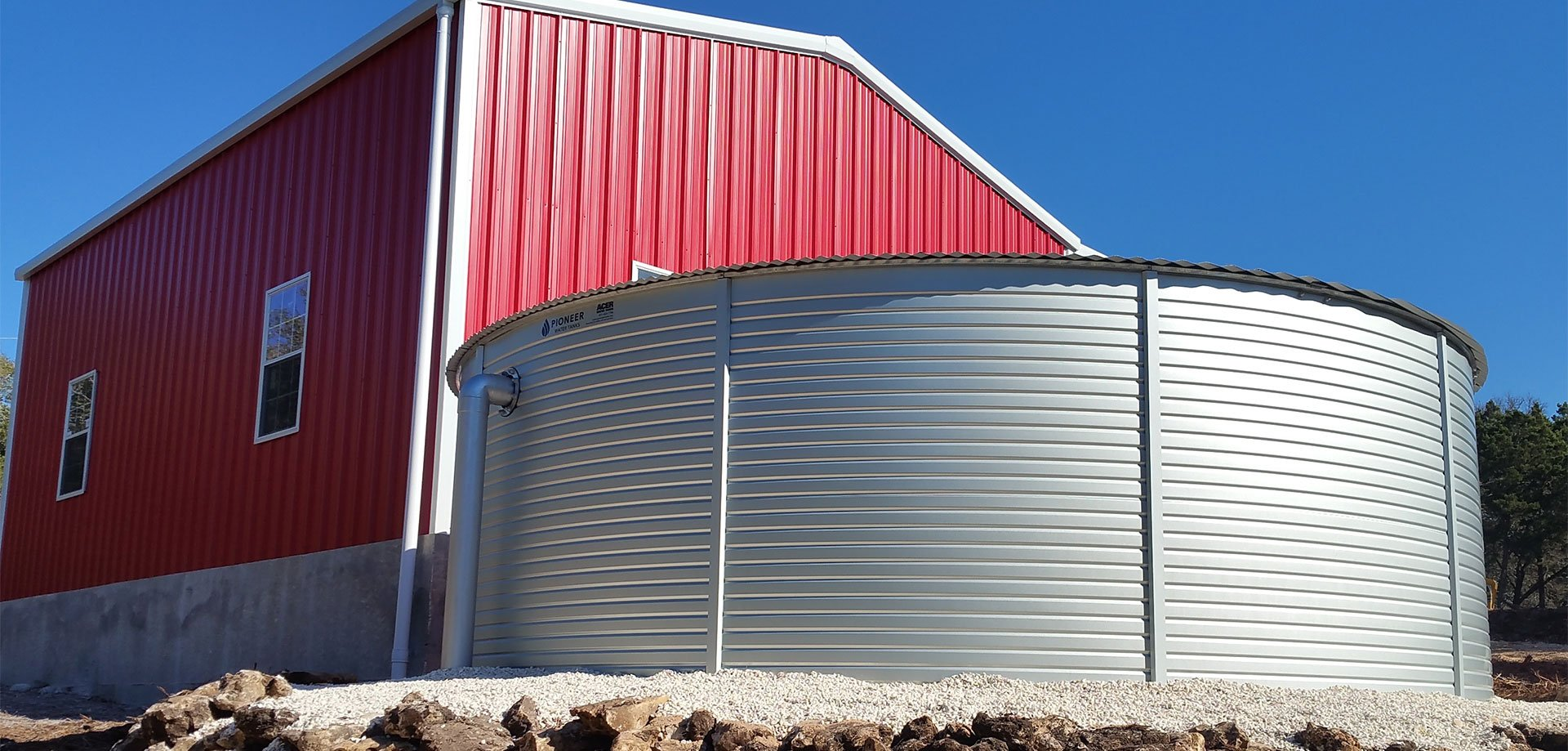 Harvested Rain Solutions Pioneer Water Tanks