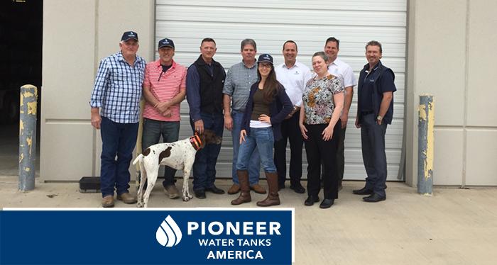 Pioneer Water Tanks America Team