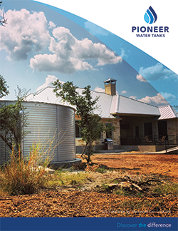 Pioneer Water Tanks residential catalog