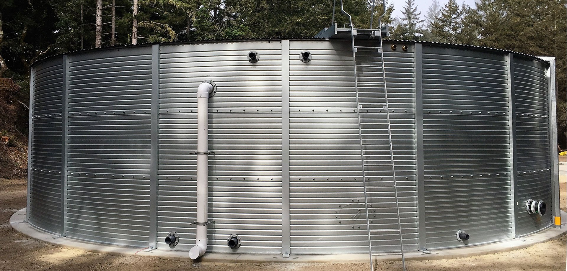 Watermark Rainwater Harvesting Pioneer Water Tanks in California