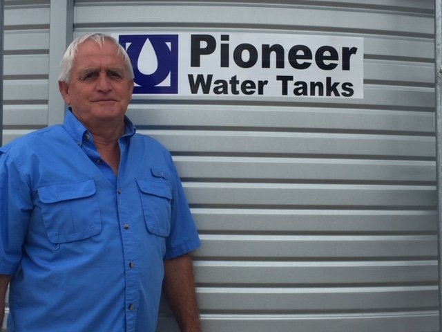 Jesse Beevers Tanks Alot selling Pioneer Water Tanks