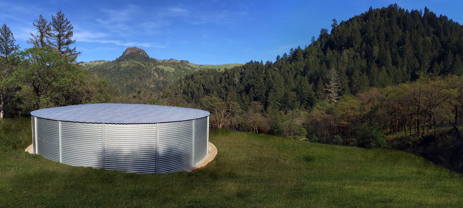 California Pioneer Water Tanks
