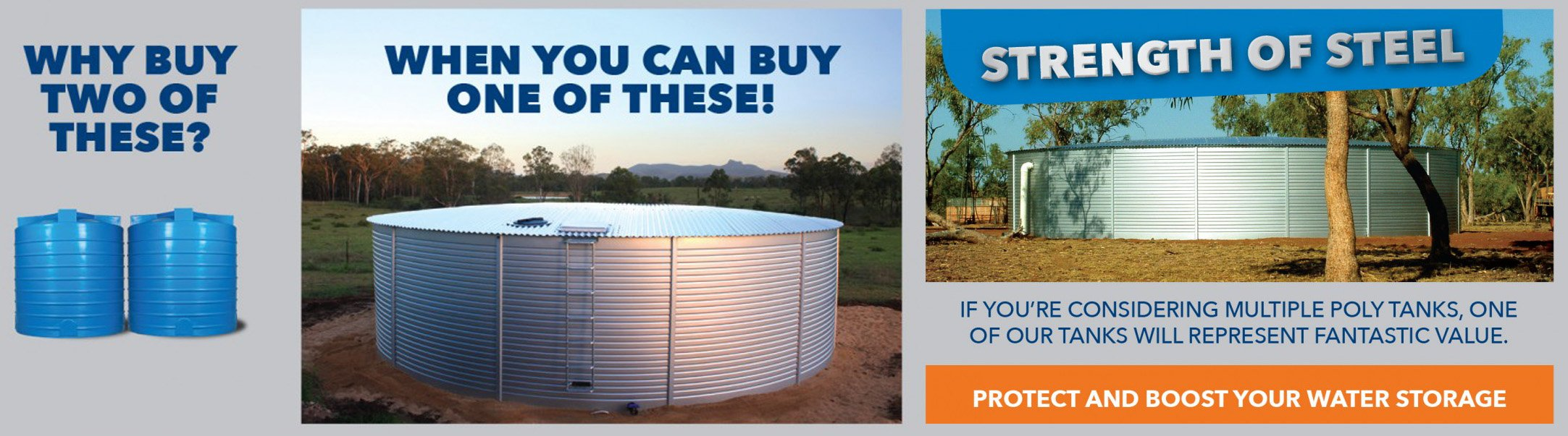 Pioneer Water Tanks why buy poly tanks