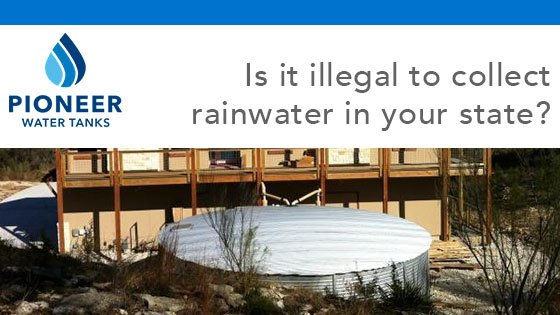 Is it illegal to collect rainwater in your state?