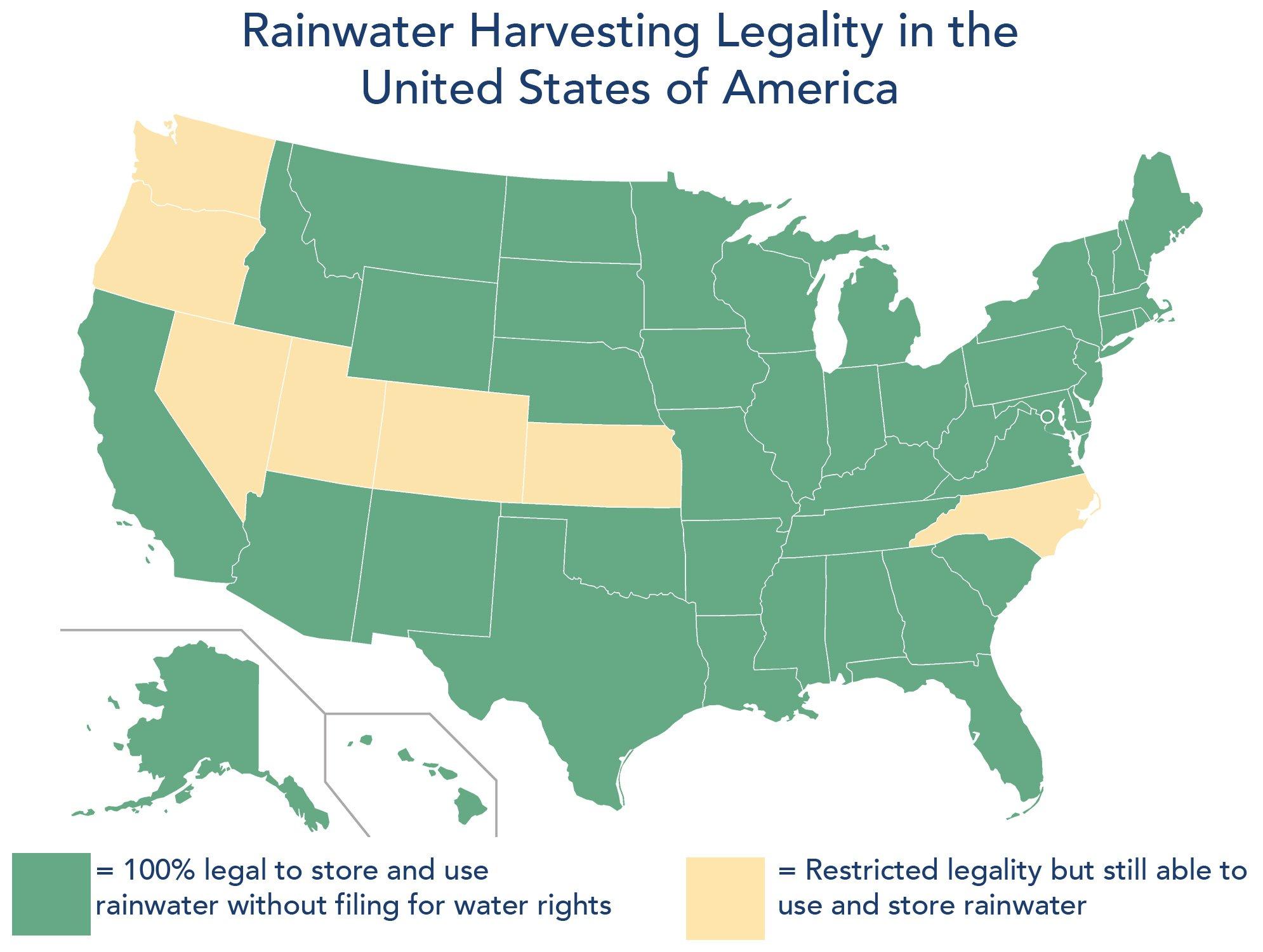 Is rainwater harvesting illegal