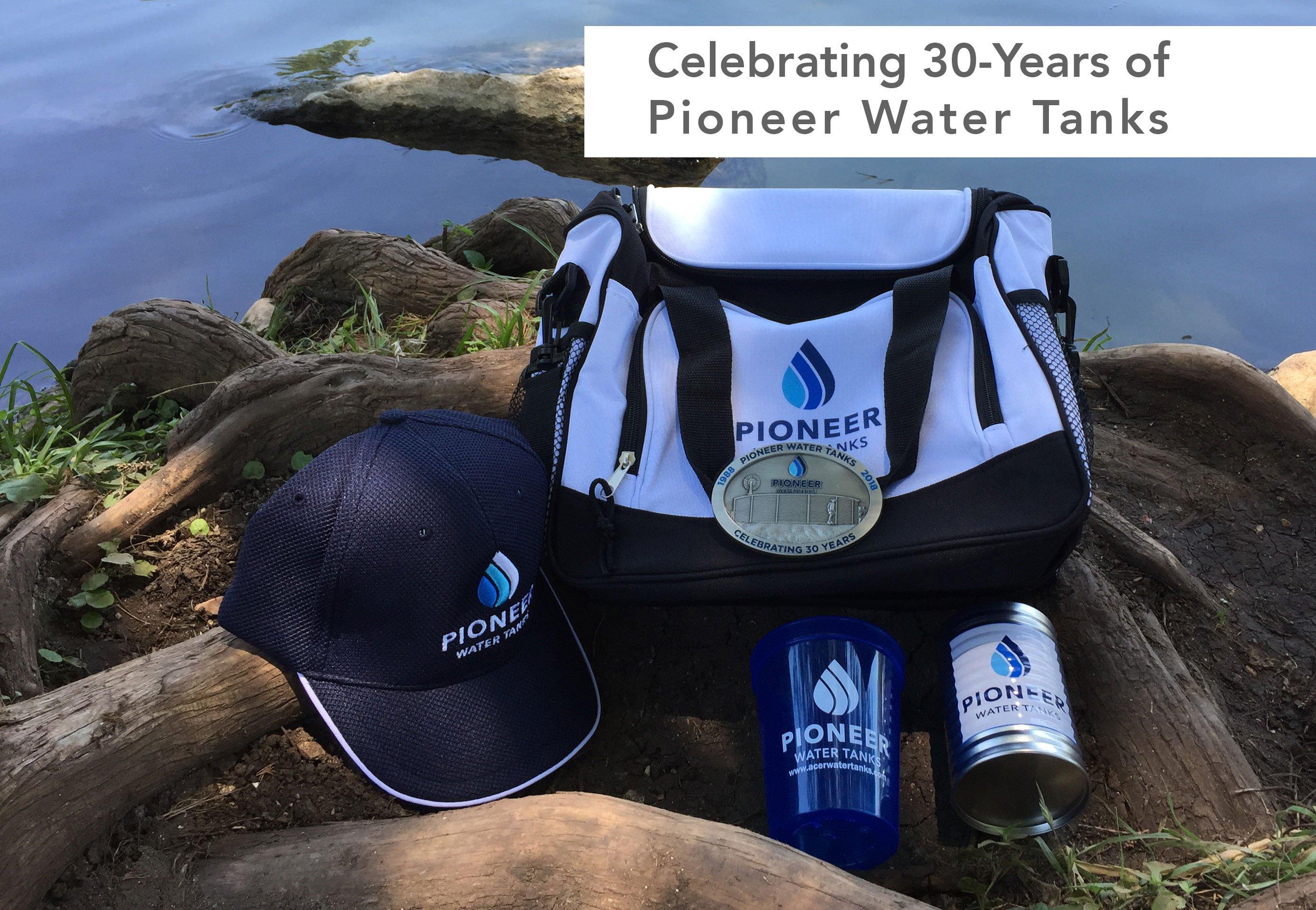 June 2018 Pioneer Water Tanks America Schwag Giveaway Contest