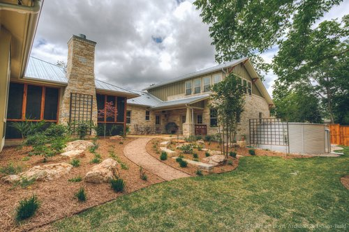 A Rainwater Collection System for a Home in the Texas Hill Country