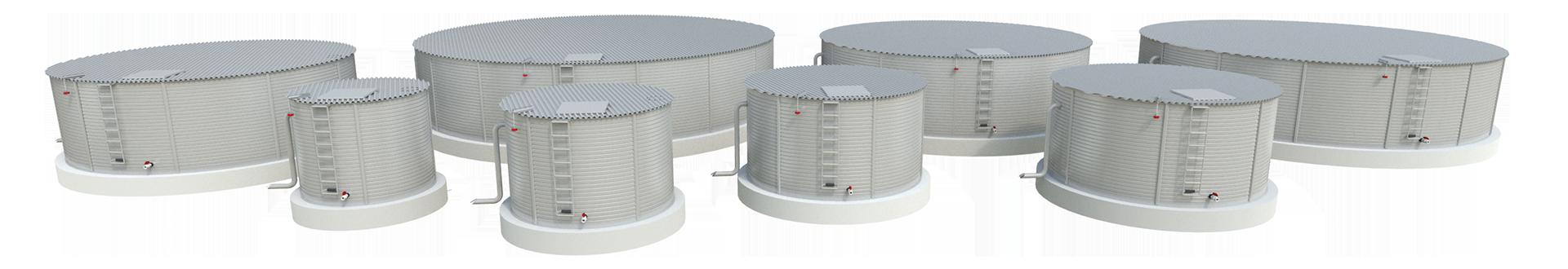 Tanks - Metal Water Tanks - Pioneer Water Tanks - Rain Harvesting