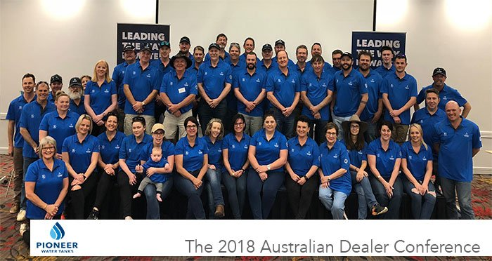 The 2018 Australian Pioneer Water Tanks Dealer Conference