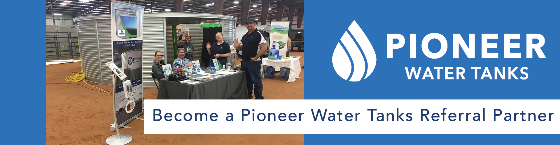 Pioneer Water Tanks Referral Partner
