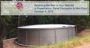 Retaining the Rain in Your Rebuild A Presentation, Panel Discussion & Mini Expo @ Utility Field Office