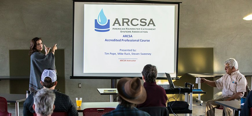 ARCSA Atlanta, Georgia ASSE Series #21120 Rainwater Catchment Systems Designers Certification Class