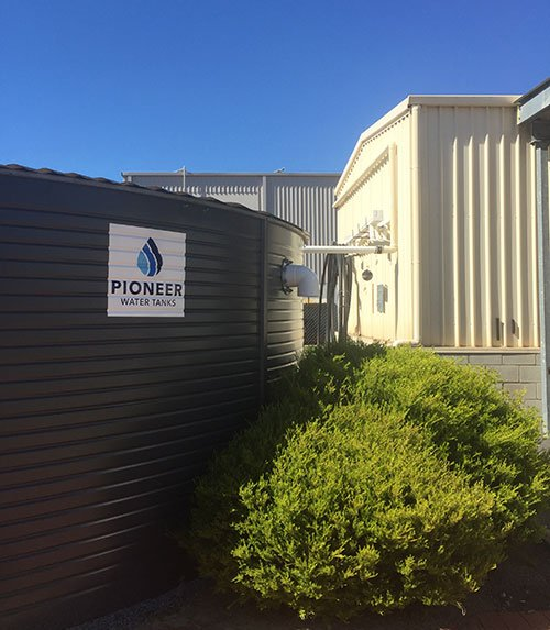 Rainwater Harvesting System at the Pioneer Water Tanks Factory