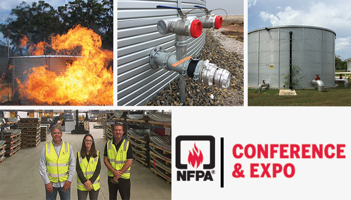 NFPA Conference and Expo 2019 Speaker on Using Rainwater for Fire Protection