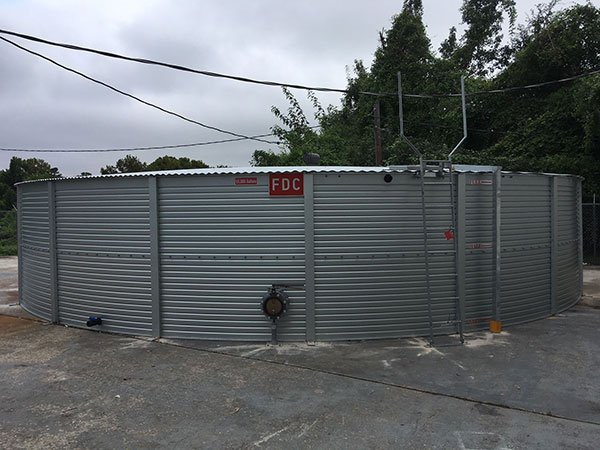 Houston Fire Protection Tanks Pioneer Water Tanks America