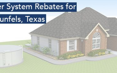 Rainwater rebates in New Braunfels Texas