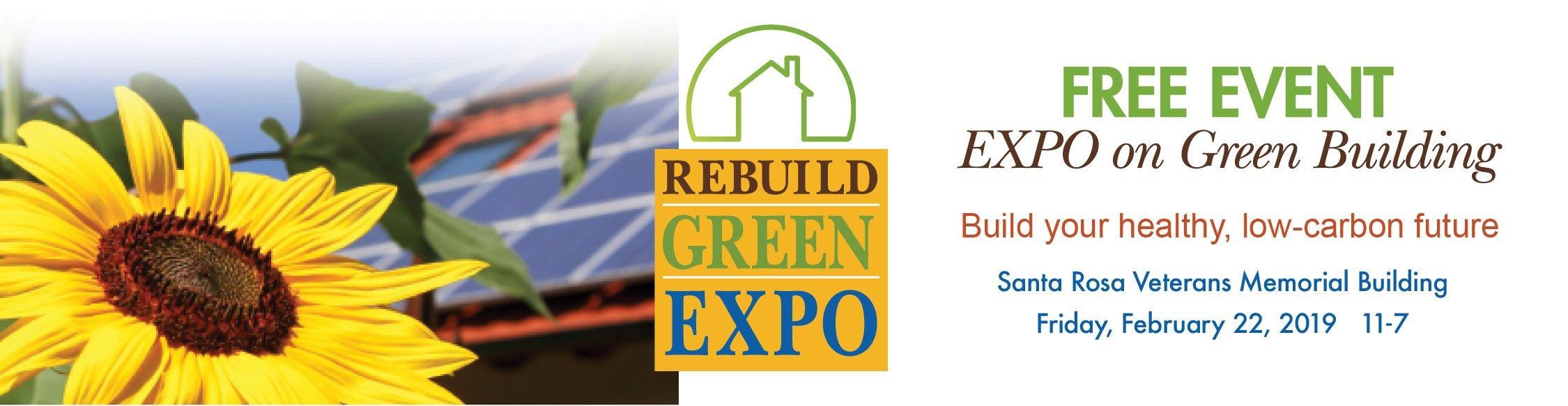 The Santa Rosa Rebuild Green Expo on February 22