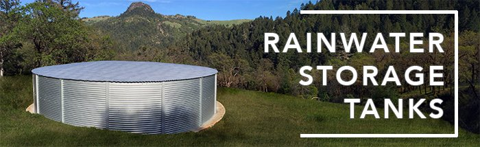California rainwater storage tanks