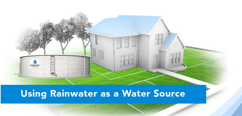 Using Rain Water as a Water Source