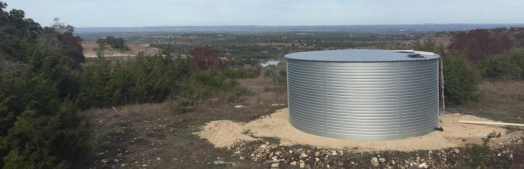10,000 gallon water storage tanks Pioneer
