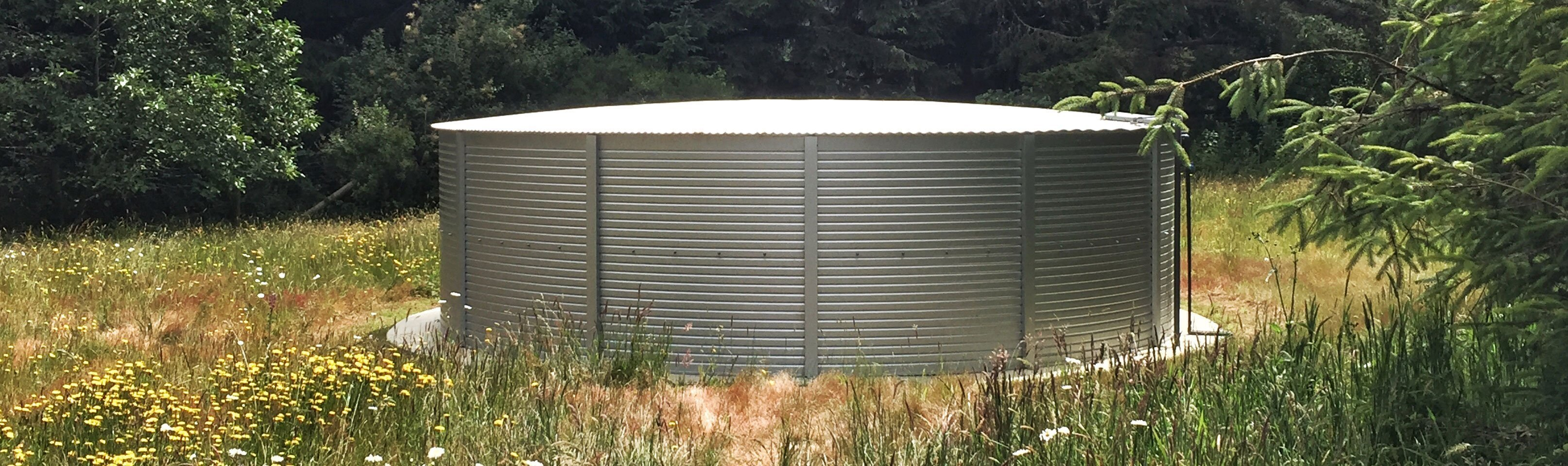 30,000 gallon water tanks