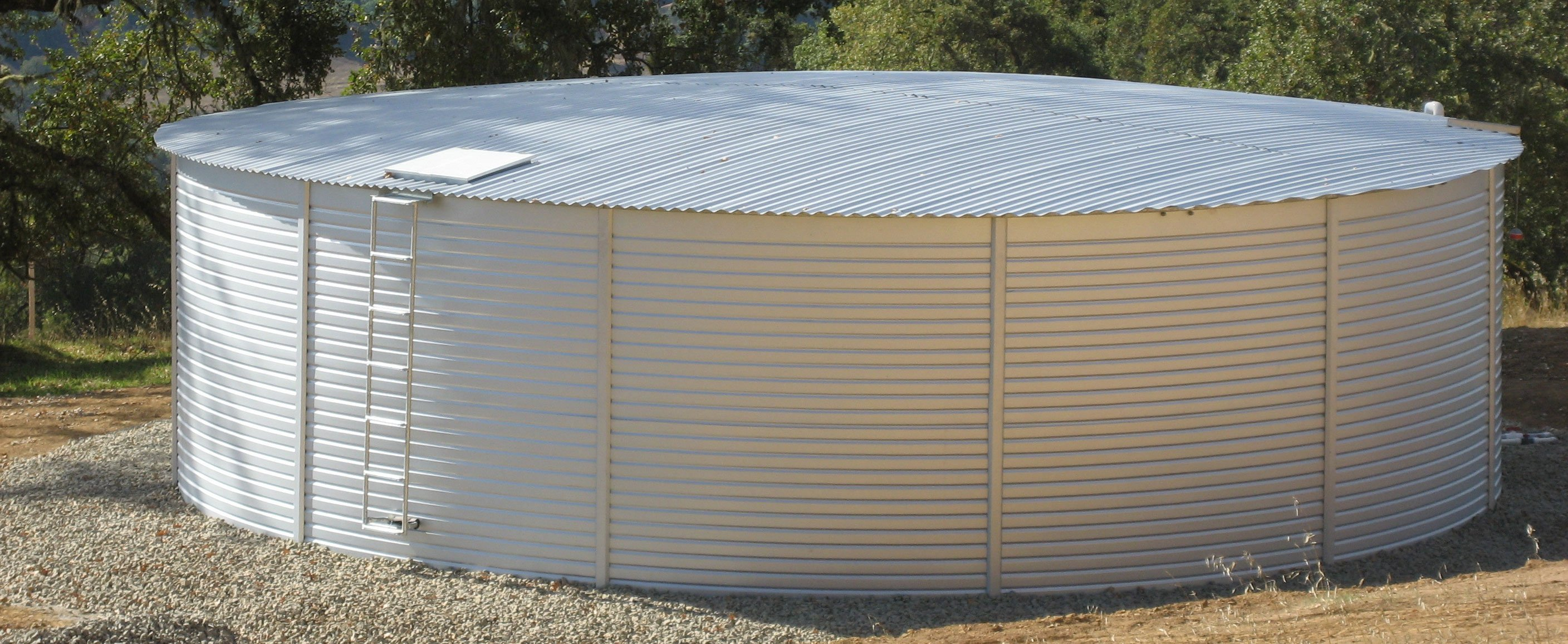 40,000 gallon water storage tanks on sale