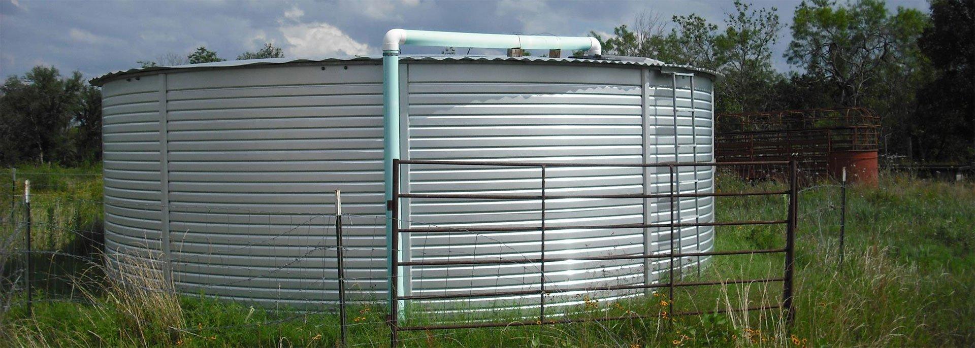 15,000 Gallon water storage tanks Pioneer