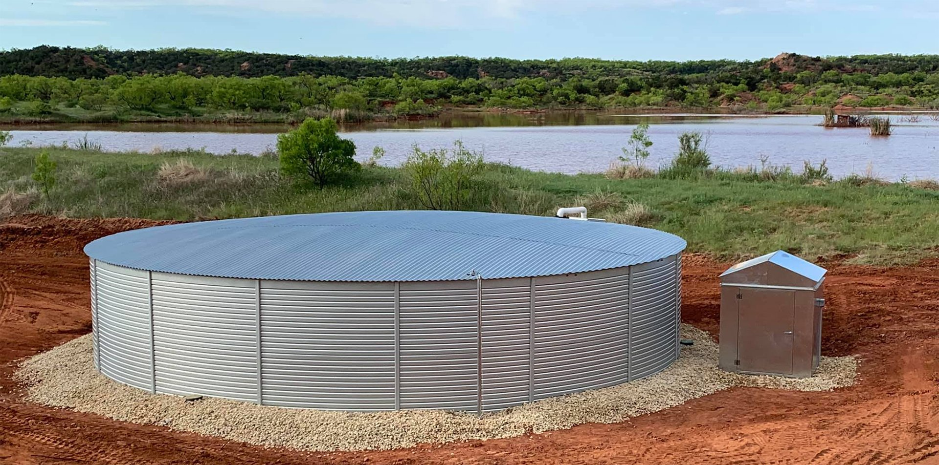 Texas water storage tanks systems