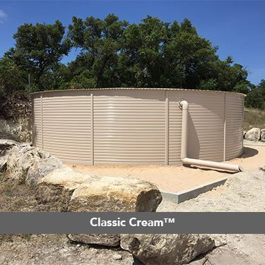 Classic Cream Colorbond Pioneer Water Tanks