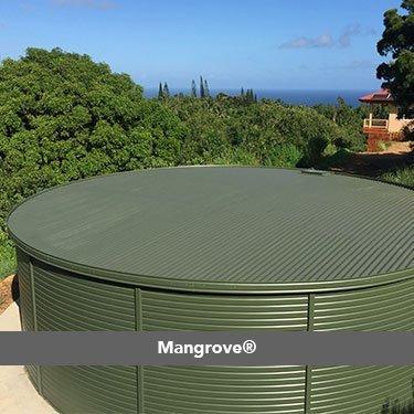 Mangrove colorbond Pioneer Water Tanks