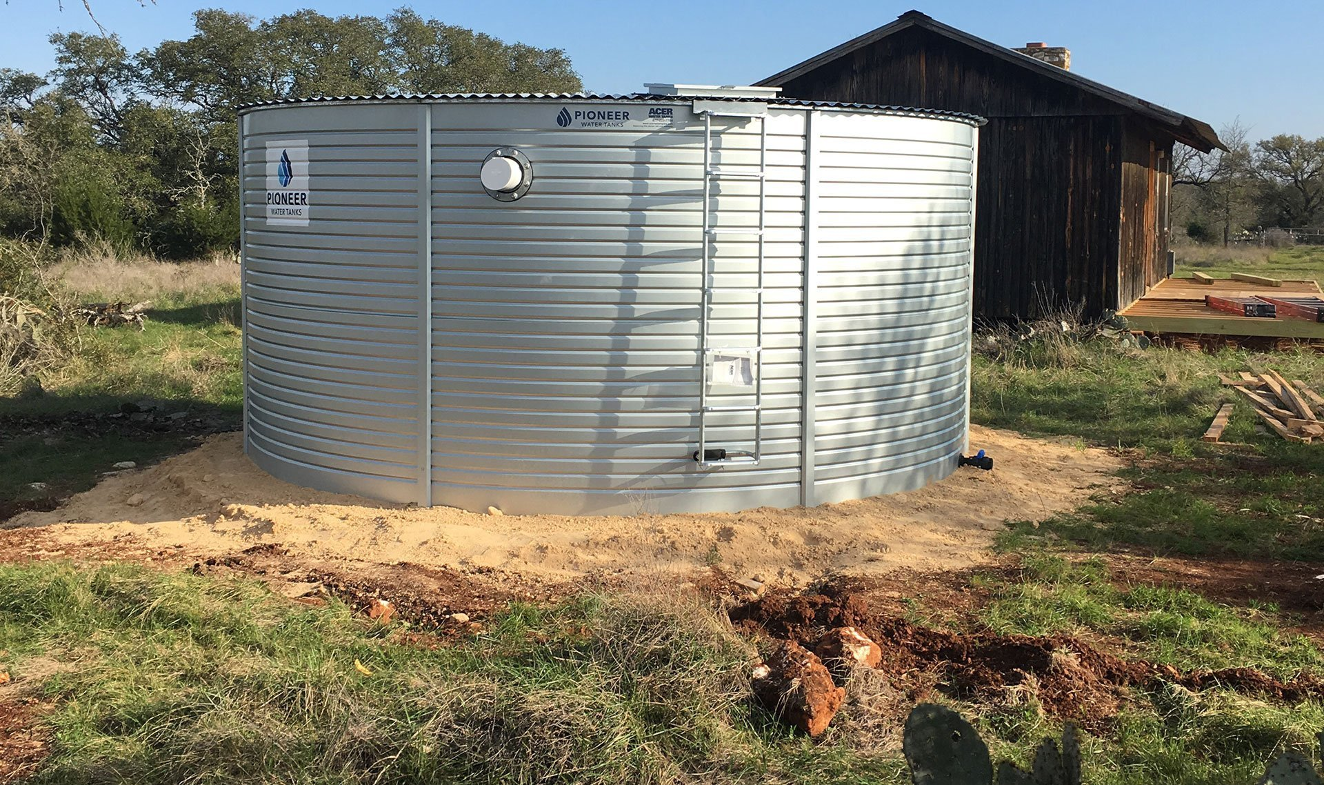 Flow Rainwater Systems cabin rainwater system
