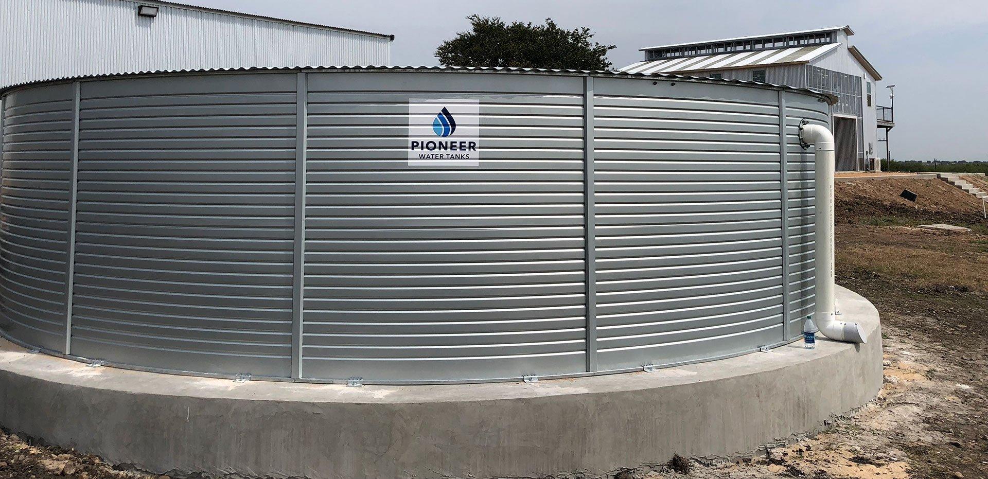 Lakota Tank Company rainwater system project