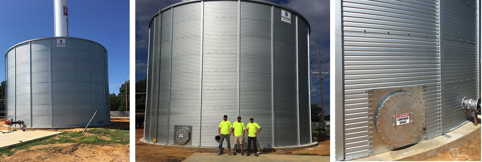Pioneer Water Tanks for fire protection in Oklahoma