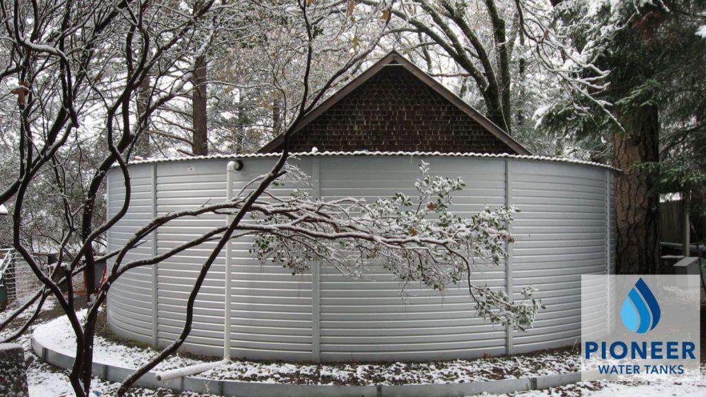 Preparing Pioneer Water Tanks for Cold Weather