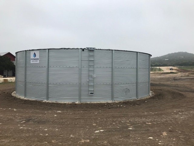 Tanks Alot provided the Singing Water Vineyards a dual-purpose XLE 50/03 Pioneer Water Tank