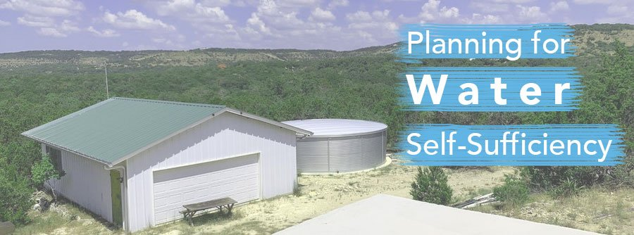 Planning for Water Self Sufficiency