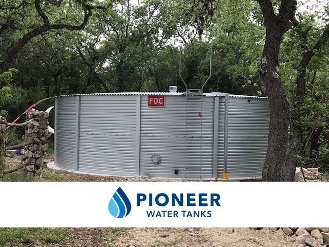 Tanks Alot Provided a Residential Fire Protection Dual Use Water Tank