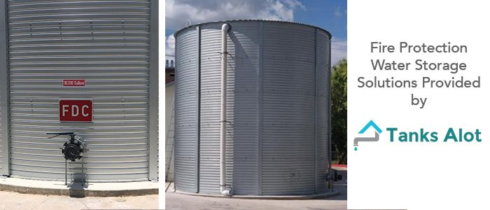 Fire Protection Water Storage Solutions Provided by Tanks Alot in Boerne Texas