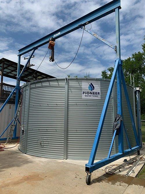 Pioneer Water Tank at Stone Aerospace