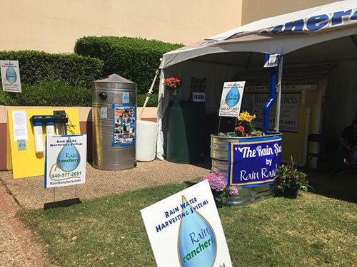 Rain Ranchers showcase rainwater harvesting at a past Rodeo event