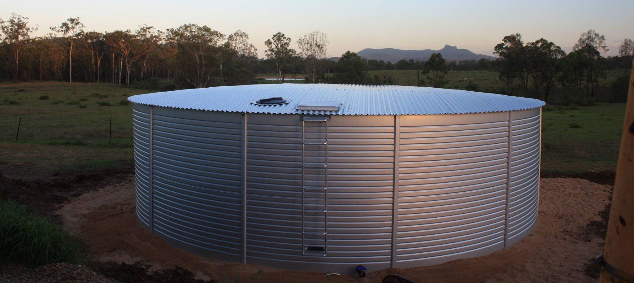 California water storage tanks for sale