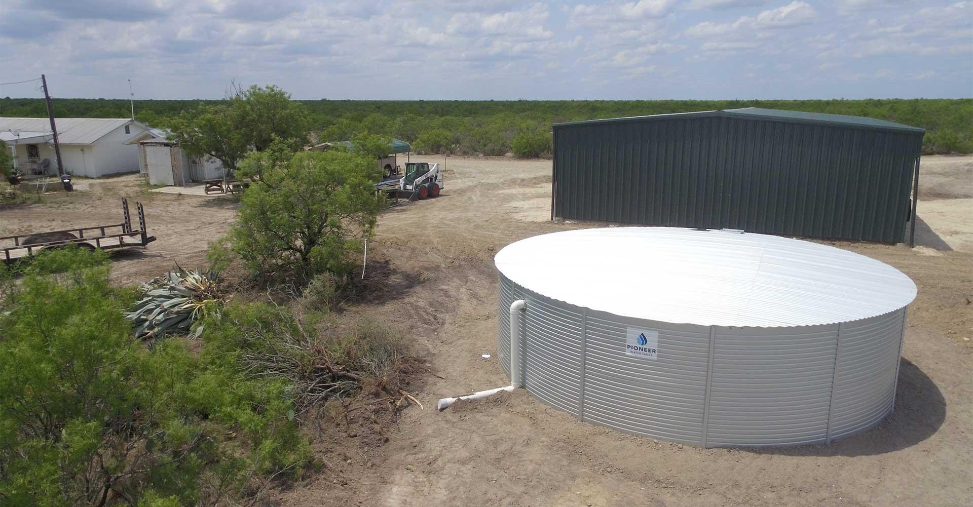Off Grid Water System Pioneer Water Tanks